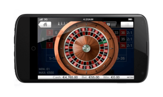 ruleta en vivo para dispositivos móviles